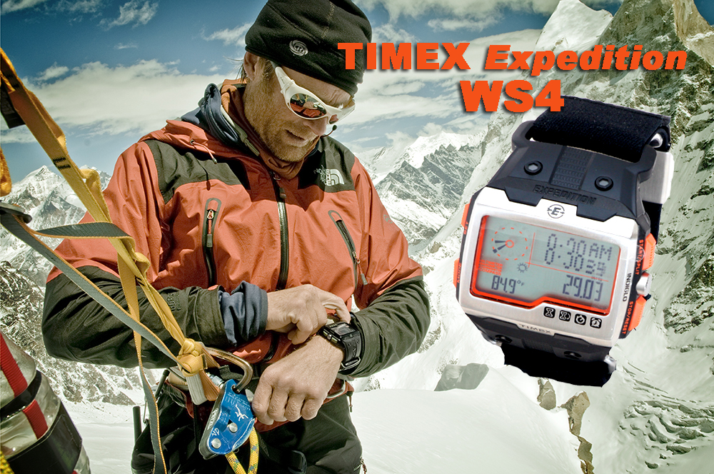 Conrad Anker, Timex Expedition WS4 Review on FreshAirJunkie.com