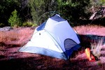 Kelty Foxhole 3 tent without rain fly.