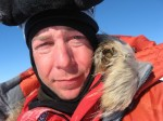 Eric Larson plans to summit Everest and reach the North and South poles in 365 days.