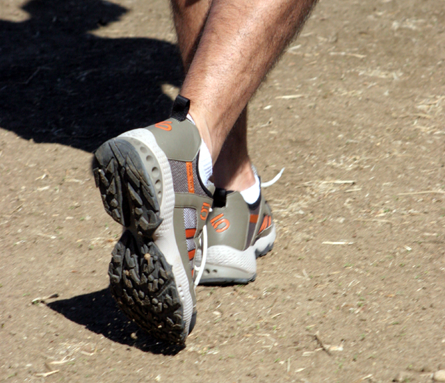 Five Ten Runamuk trail running shoe photo by dan sanchez