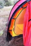 Note linked inner and outer tents pitch in tandem, reducing set up time.