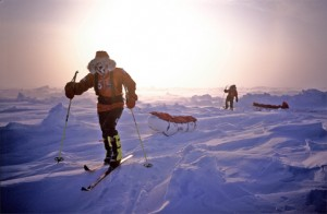 Ski in the North Pole