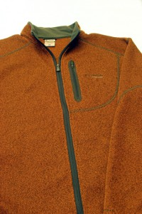 An insulating layer can be a fleece jacket or pull-over that is breathable and adds warmth.