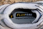 FluxFoam continually adjusts to your foot.