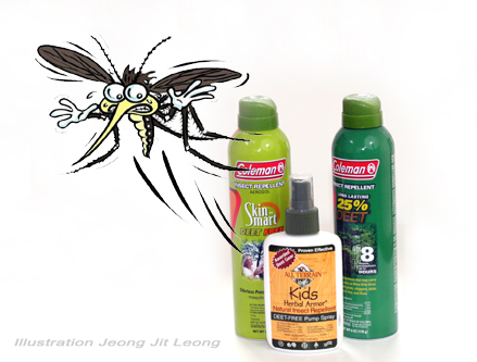 Repellants Natural versus DEET