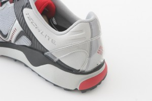 Columbia's 3D Techlite heel strengthens the outer heel of the shoe and provides a better fit and improved stability.