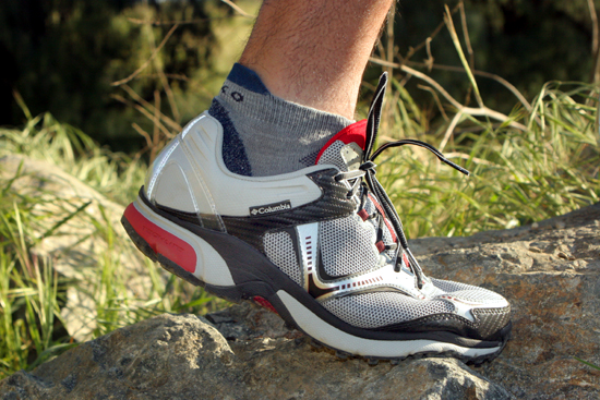 The shoe is very flexible, and provides excellent grip over several types of terrain.