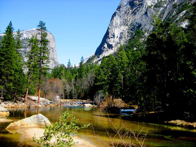 Yosemite Creek Trail Snow Creek Trail Approach is