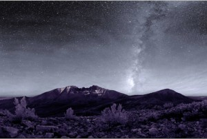 The high ridges allow for great night sky viewing. Photo by NPS Night Sky