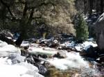 Yosemite creek crashin'. Click to enlarge.