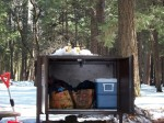 Food lockers keep bears out. It's not a bear problem, it's a human one.