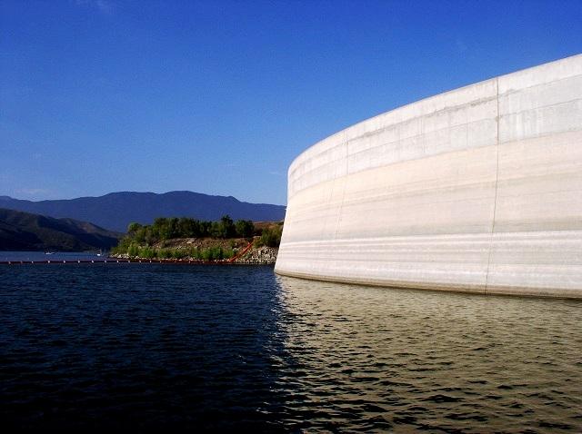 Vail Lake Dam Click To Enlarge Fresh Air Junkie