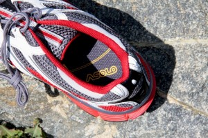 Dominator footbed and uppers offered comfort and snug fit.
