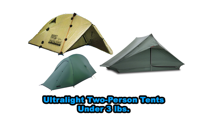Ultralight two-person tents