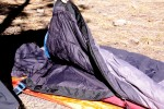 Big Agnes Yampa 40 interior is comfortable, warm, and durable.