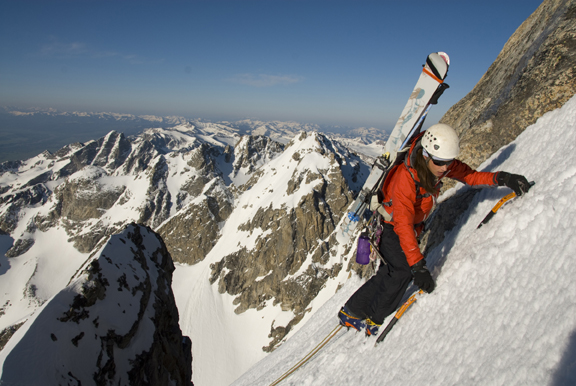 Kit DesLauriers, Grand Teton, WY. Photo by Jimmy Chin