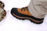 Patriot 3's are warm and comfortable; worked well with the Mt. Khakis insulated mountain pants.