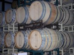 Wine barrels of Indian Peak await the aging grape!