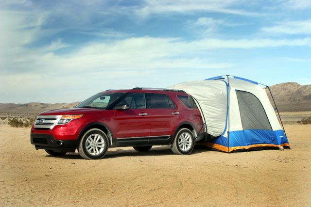 Napier 82000 SUV tent & Napier Sportz SUV 82000 Tent Review u2013 Fresh Air Junkie