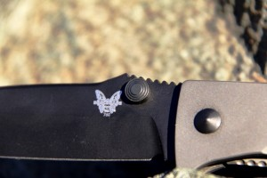 Benchmade 760 thumb stud is robust and useful.