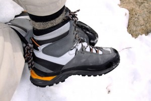 LOWA Cevedale GTX Mountaineering boot.