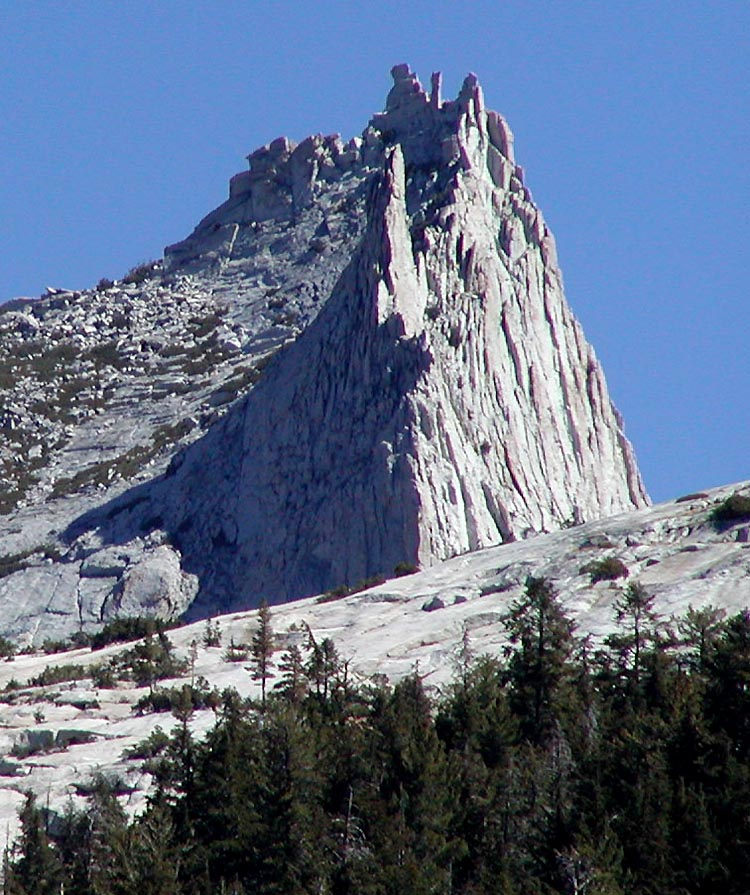 Cathedral_Peak_CA_from_west. Photo by Stan Shebs