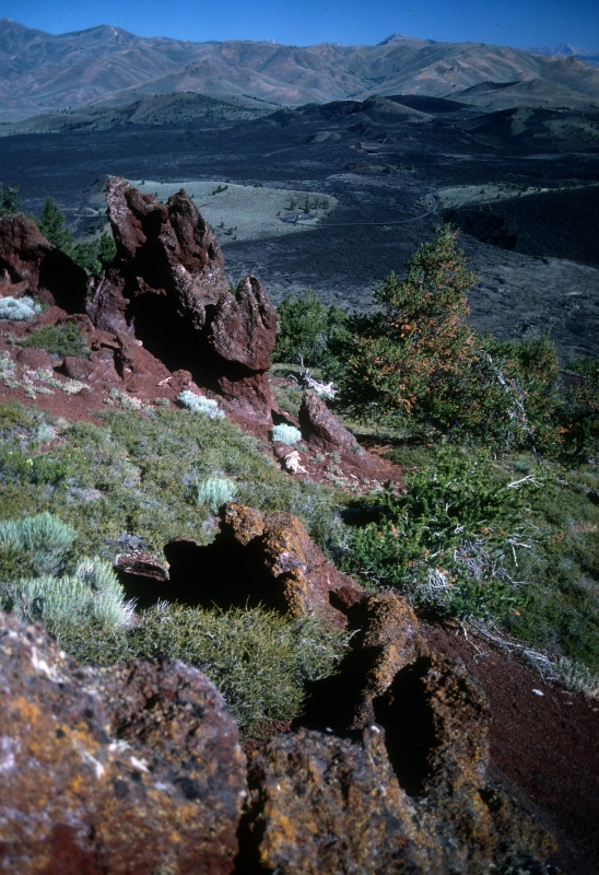 A panoramic view from the top of Big Cinder Butte.