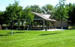 Eagle Island State Park group picnic area.