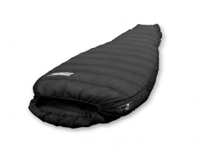 Stuffed with 900-Fill Goose Down, the Terra Nova Laser 300 sleeping bag weights only 11.6 ounces.