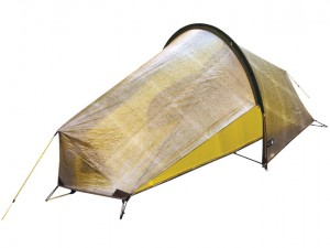 For those who don't like to sleep under a lightweight tarp or a confining bivy, the Terra-Nova Laser Ultra-1 makes a good lightweight alternative.