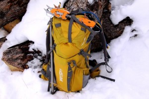 Vantage 35 holds all the gear you'll need for a long day, any time of year.