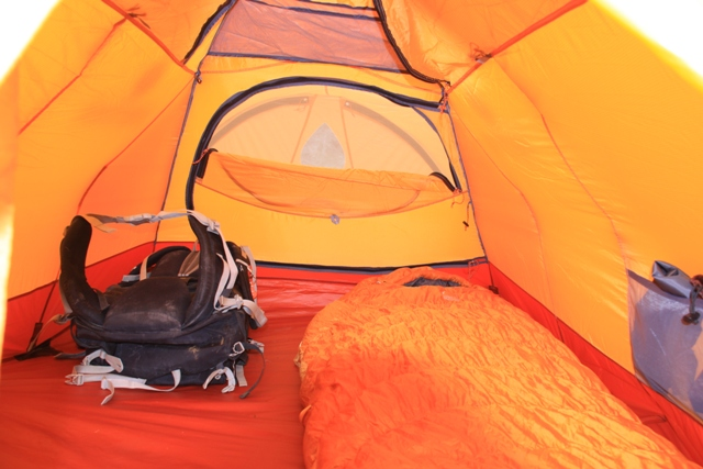Interior of Marmot Thor two-person tent. Nice cabin. & Marmot Thor 2P interior 27. u2013 Fresh Air Junkie