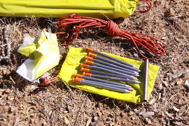 10 Easton Nano tent stakes come with the Rimrock 2P tent. & Rimrock 08 u2013 Fresh Air Junkie