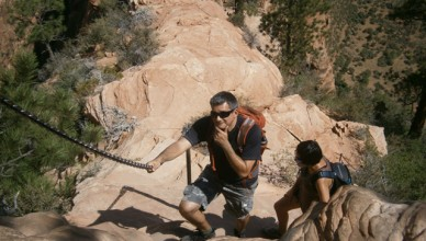 10 Challenging Hikes- Angels Landing, Zion NP.