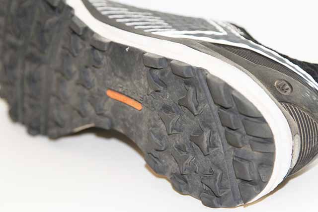 The All Out Crush Shield uses Merrell's M Select™ GRIP, that provides great traction.