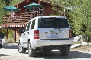 The lodge at Rock Creek is a great place to replenish water, food and to set up a base camp if necessary.