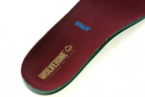 The Ortho Lite liner is anti-microbial treated and provides an extra cushion for your feet.