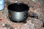 EtaPakLite kit pot with radiator on bottom.