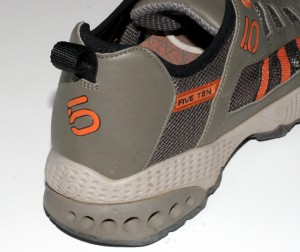 The rear quarter is taller than on most running shoes and rubs uncomfortably against the back of your foot.