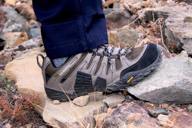 Merrell Pivot Lace trail shoe. Click to enlarge.