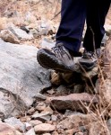 Rugged, rocky, trails are doable with Pivot Lace.