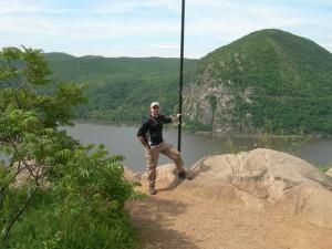 Robert Rodman on Breakneck Ridge, NY