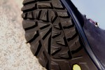 Tractor grip Vibram Tactis DST outsoles have open voids to help self-clean.