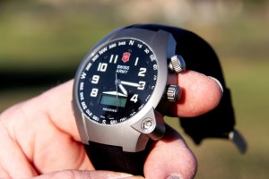 SAV ST-5000 Compass Watch -- LEAD. Click to enlarge.