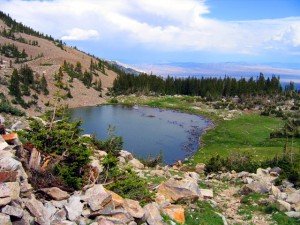 A view of Johnson Lake, one of the hikes in Great Basin National Park- Photo by Chris Wonderly