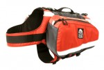 Granite Gear Long Howl dog pack with saddle bags attached.