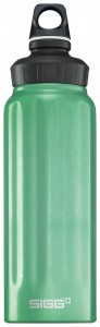 An aluminum water bottle can come in handy to gather water and to also be used with a water purifying device.