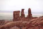 Wind sculpted rock structures go back thousands of years.