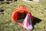 Entry to Marmot Home Alone Bivy.