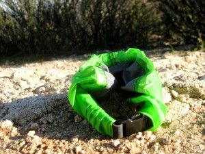 Granite Gear Drysack is compact when you want to store it.